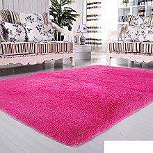 moderne Seide Volltonfarbe Teppiche/Schlafzimmer Wohnzimmer Sofa-Bettdecke/ Wand an Wand Fenster Mat-A 120x200cm(47x79inch)120x200cm(47x79inch)