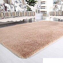 moderne Seide Volltonfarbe Teppiche/Schlafzimmer Wohnzimmer Sofa-Bettdecke/ Wand an Wand Fenster Mat-C 160x260cm(63x102inch)