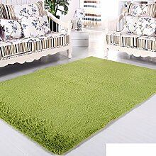 moderne Seide Volltonfarbe Teppiche/Schlafzimmer Wohnzimmer Sofa-Bettdecke/ Wand an Wand Fenster Mat-B 160x260cm(63x102inch)