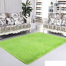 moderne Seide Volltonfarbe Teppiche/Schlafzimmer Wohnzimmer Sofa-Bettdecke/ Wand an Wand Fenster Mat-E 120x160cm(47x63inch)