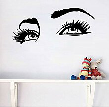 Moderne Sexy Augen Vinyl Wandaufkleber Tapete Für