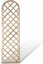 """Moderne Sichtschutz Zaun Rankhilfe Maße 60 x 210 auf 180 cm (Breite x Höhe) mit Rundbogen aus Kiefer/Fichte Holz, druckimprägniert """"Berlin"""