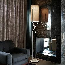 Moderne Stehlampe mit minimalem Design aus Metall