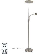 Moderne Stehlampe Stahl inkl. LED mit