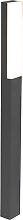Moderne Stehleuchte dunkelgrau 90 cm IP54 - Opacus