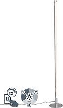 Moderne Stehleuchte LED chrom - Line-up