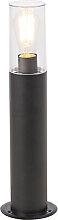 Moderne Stehleuchte schwarz 50 cm - Rullo