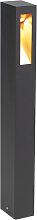 Moderne Stehleuchte schwarz 65cm inkl. LED -