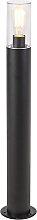 Moderne Stehleuchte schwarz 80 cm - Rullo