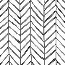 Moderne Streifen-Tapete zum Abziehen und