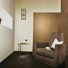 Moderne Tapete Beige Farbe: Weiß Lotus Schlafzimmer Wohnzimmer TV 3D Tapete 3D Wallpaper A