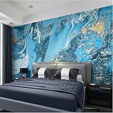 Moderne Tapete, Blaue Abstrakte