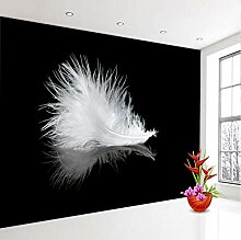 Moderne Tapete große Tapete in Schwarz und Weiß