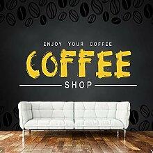 Moderne Tapete, Kaffee Kunstwandgemälde Für