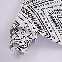 Moderne Tapete zum Abziehen und Aufkleben, 45 x