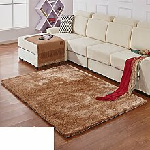 Moderne Teppiche solide Verschlüsselung/ Haushalt Tür Decke-B 140x200cm(55x79inch)