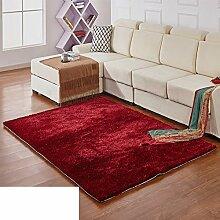 Moderne Teppiche solide Verschlüsselung/ Haushalt Tür Decke-J 140x200cm(55x79inch)