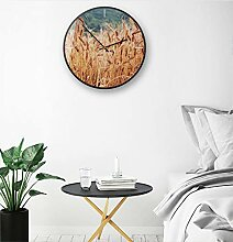 Moderne Uhr Goldene Reis Wanduhr Einfache und