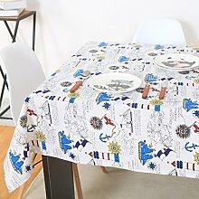 Moderne Und Einfache Baumwolle Und Leinen Tischdecke/Stoff-Tischdecke-A 140x140cm(55x55inch)