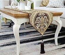 moderne und einfache Tischläufer/Tisch/Abdeckung Tuch/Tischdecke decke-A 30x180cm(12x71inch)