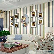 Moderne vlies gestreifte tapete für schlafzimmer