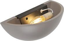 Moderne Wandlampe grau - Gypsy Suka