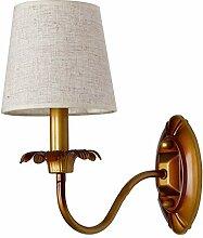 Moderne Wandlampe Nordic Stoff Deco wandleuchte