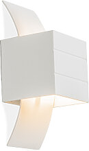 Moderne Wandlampe weiß - Amy