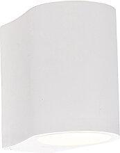 Moderne Wandlampe weiß - Gypsy Tubo
