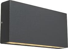 Moderne Wandleuchte dunkelgaru inkl. LED - Otan