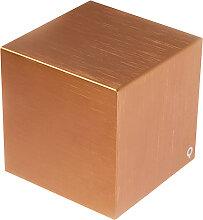 Moderne Wandleuchte Kupfer - Cube