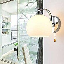 Moderne Wandleuchte LED Kugel Wandlampe