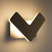 Moderne Wandleuchte LED Stahl - Check