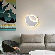 Moderne Weiße Wand-Lampe, Led Kreative Mond