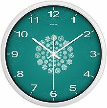 Moderne Wohnzimmer Garten Wanduhr rund um kreative Persönlichkeit/ amerikanische Schlafzimmer Uhr-T 14Zoll