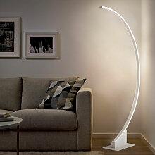 Moderne Wohnzimmer Stehlampe LED gewölbt Aldebaran