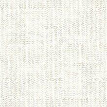 Moderne, zeitgemäße Papiertapete in Weiß und