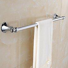 Moderne Zinklegierung Farbe Chrom Handtuchhalter Halter Wandhalterung Badezimmer Accessoires Badezimmer Regal Duschtuch Regal Home Dekoration Bad-Bad Regale