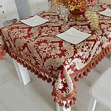 Modernen europäischen Luxus Tisch Tuchgewebe