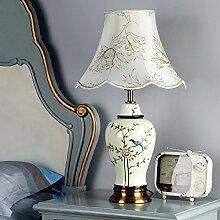 Modernen minimalistischen Schlafzimmer Lampe, warm