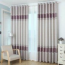 Modernen minimalistischen Wohnzimmer Fenster Schatten/Master-Schlafzimmer Blackout Vorhänge-B 150x270cm(59x106inch)