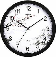 Modernen Minimalistischen Wohnzimmer Uhren/Mute Den Wohnzimmer Wanduhr-B 14Zoll