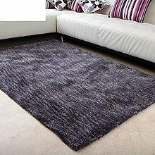 Modernen minimalistischen Wohnzimmerteppich/super weich/Mikrofaser Schlafzimmer Teppich-D 120x170cm(47x67inch)
