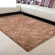 Modernen minimalistischen Wohnzimmerteppich/super weich/Mikrofaser Schlafzimmer Teppich-A 140x200cm(55x79inch)
