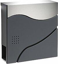 Moderner Design Briefkasten V30 Anthrazit