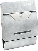 Moderner Design Briefkasten V9 Hellgrau