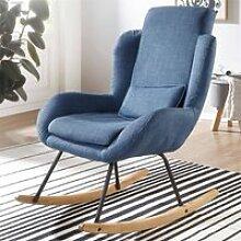 Moderner Design Relaxsessel, blau B/H/T ca.