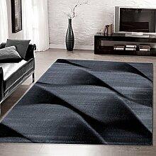 Moderner Design Teppich Schnecke Teppich Kurzflor Wohnzimmer versc. Größen, Größe:120x170 cm