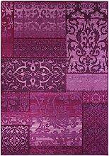 Moderner Design Teppich Vintage mit orientalischem