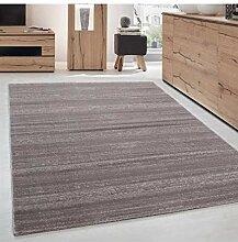 Moderner Designer Kurzflor Wohnzimmer Teppich
